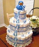 DIAPER CAKE -DUCK