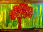 Red Tree14x20