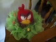 centros de mesa de angry birds