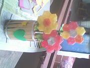 flores de pajilla