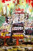 Balinese Offerings Still Life # 1
