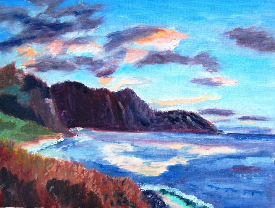Waianae Sunset Clouds
