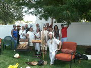 Full Moon Ceremony Baibramael house Union New Jersey Aug 2015