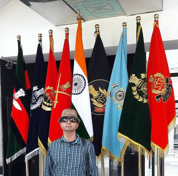 At The National Security Guard (NSG) HQ  - an Indian special forces unit