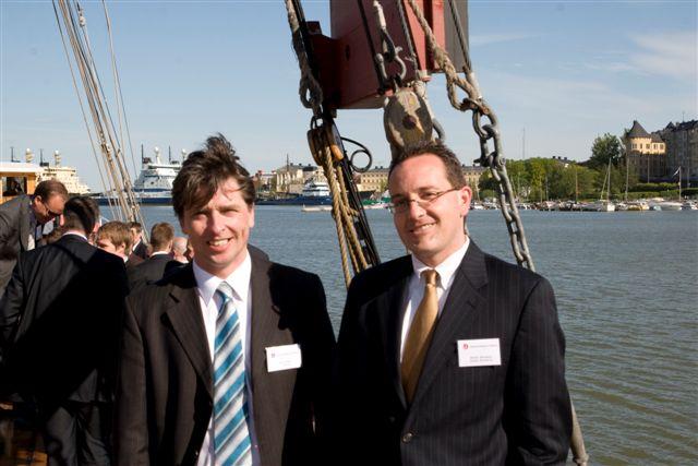 GIA CI Summit Helsinki May 2008 (Social gathering. Michel Bernaiche, Jens Thieme)