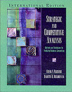 Strategic and Competitive Analysis: Intl. Ed.