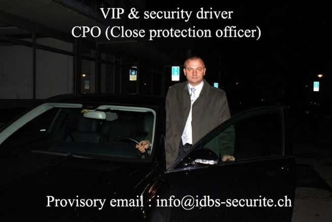 VIP & security driver