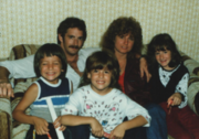 Rick, me and the  kids