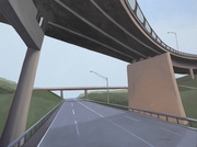 Red Overpass