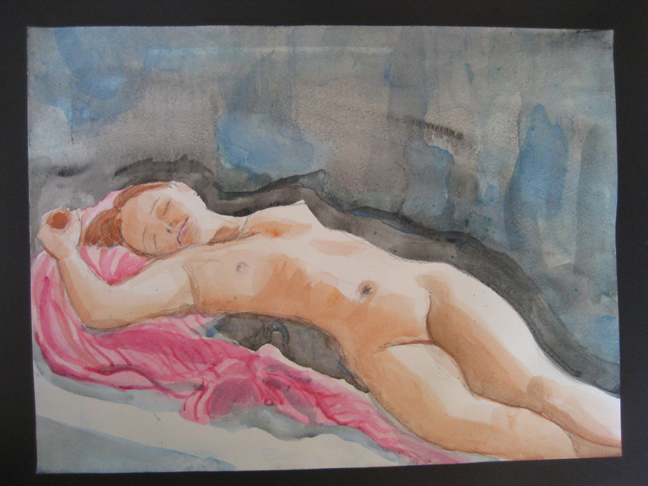 reclining nude 8/2011