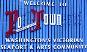 welcolm to po town- aka Port Townsend