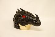 Black Dragon Bust: Right
