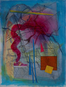 """Pink shoe in rational space"" 2012"
