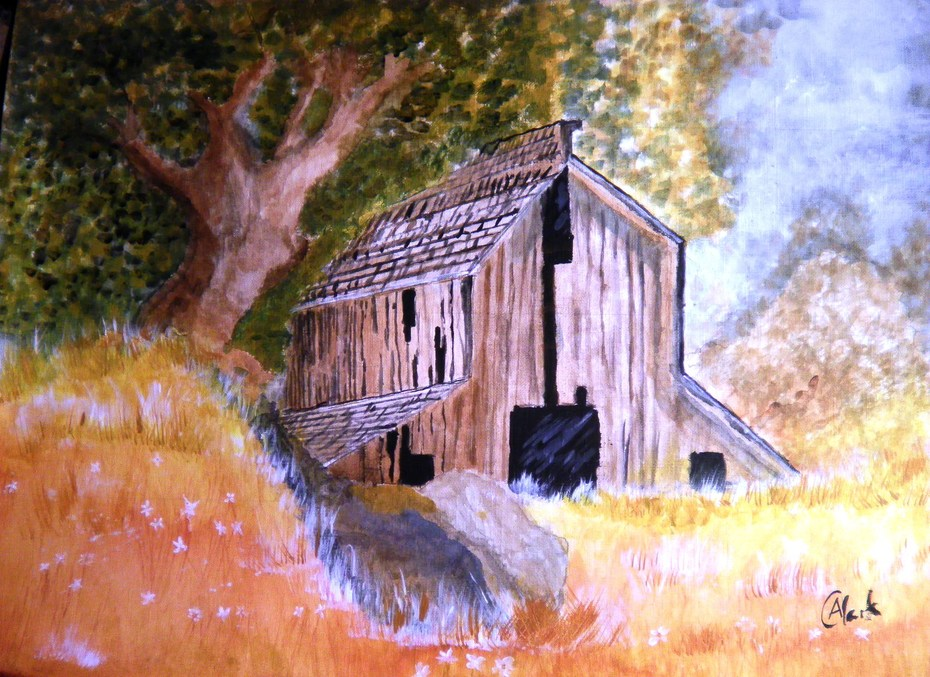 Barn on Hill