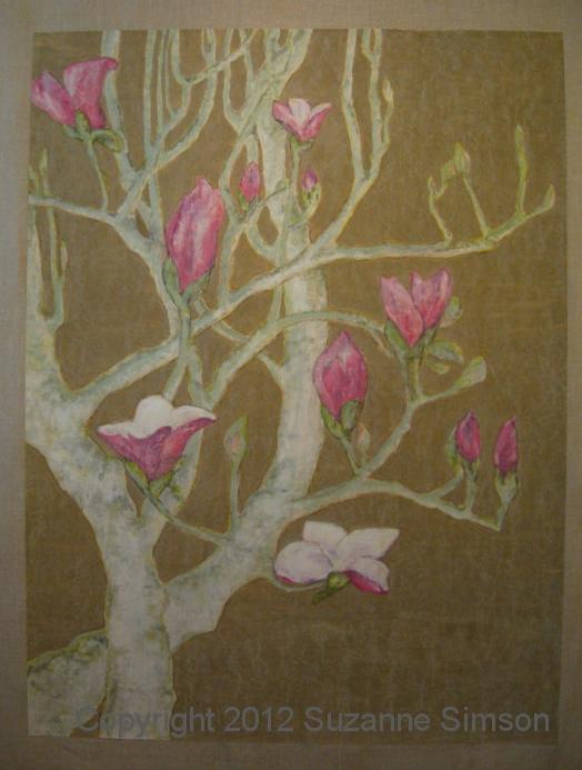 Magnolia Mural