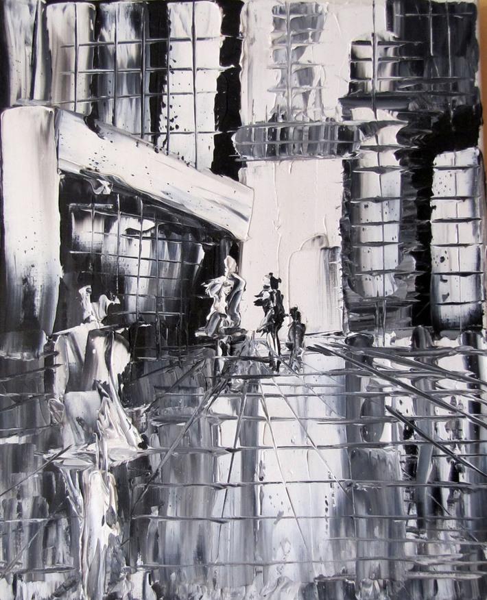 black & white world