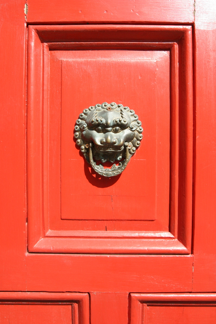 Red Door Lion