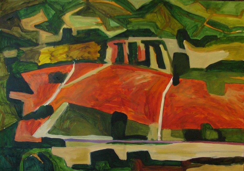 landscape (plowed field)