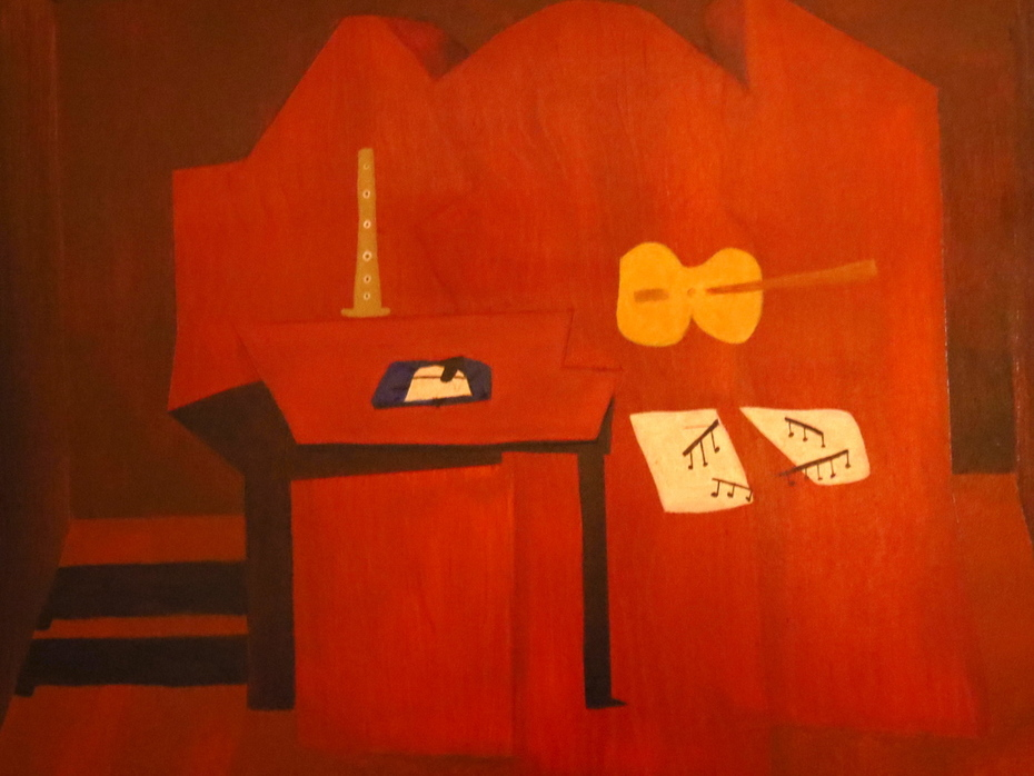 Picasso's Three Musicians