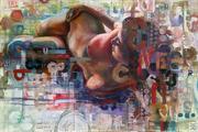 Claudia Painting...
