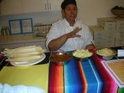 Mama's Hot Tamales - Tamale making workshop