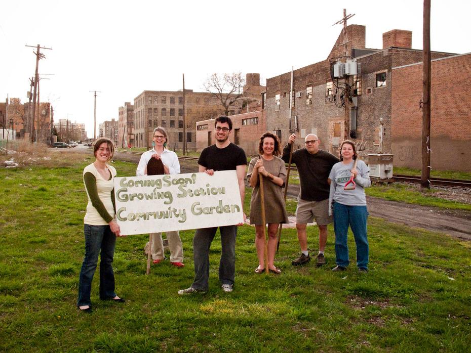 Growing Station Community Garden