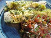 CSA Cookoff 7/21/10 - Summer squash enchiladas with salsa fresca