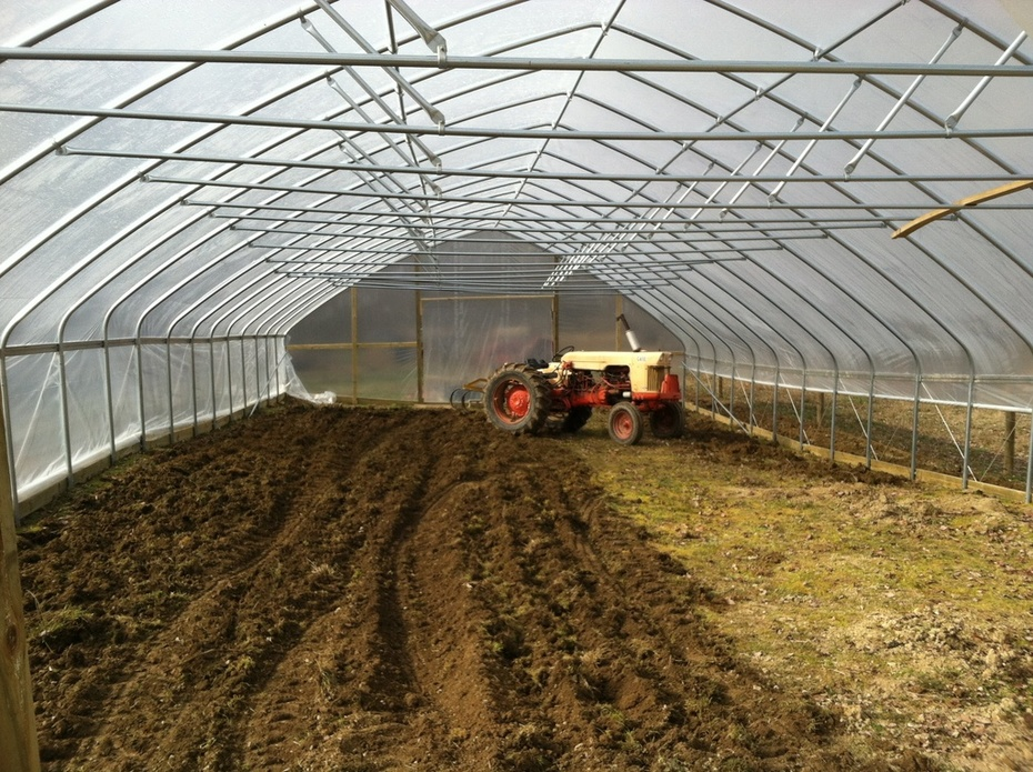 Tilling for cover crop planting