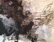 Lyrical Abstract - 11 x 14 - #3