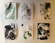 """Lyrical Abstracts - 2.5"""" x 3.5"""" - #1-6"""