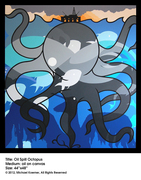 Oil Spill Octopus