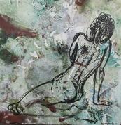 Woman Gesture #21 (16x16) 2015