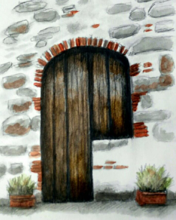 Italian Merchant Door
