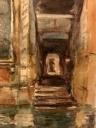 Venetian Doorway after John Singer Sergent