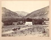 Entrance to Zwartberg Pass, Prince Albert 1890's