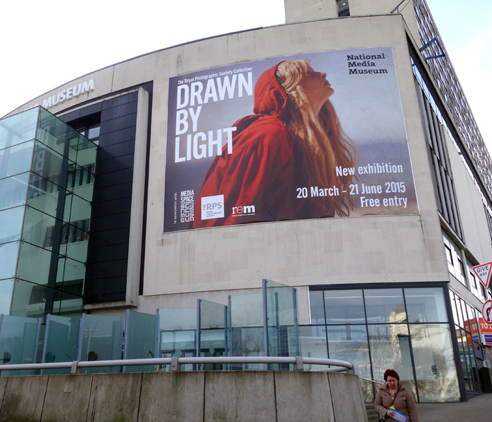 National Media Museum - Drawn by Light advertising banner