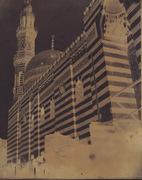 John Beasley Greene: Dome and Minaret of Madrasa Khanqah of Sultan al Zahir Barquq, Cairo, Egypt.