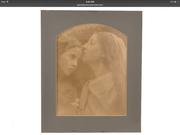 "Julia Margaret Cameron ""The Kiss of Peace"" variation, 1870."