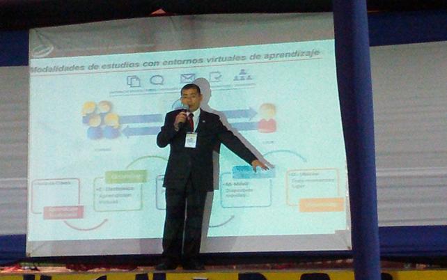 En conferencia