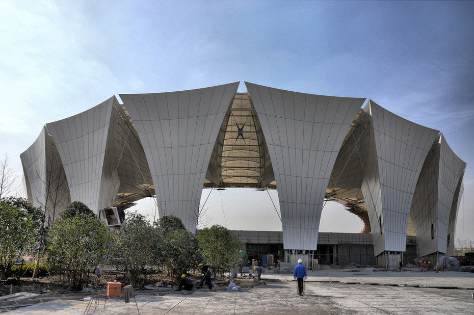 Shanghai Oriental Sports Center - Outdoor Diving Pool