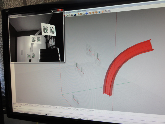 04 Camera Tracking after bending – Screen shot
