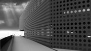 Gradient perforation facade (shot 2)