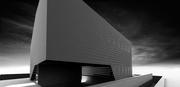 Gradient perforation facade