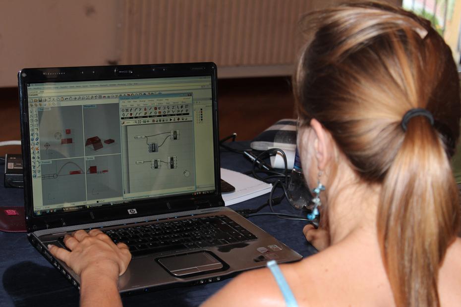 Parametric design at digitalMed 2012