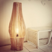 Fibrous lamp
