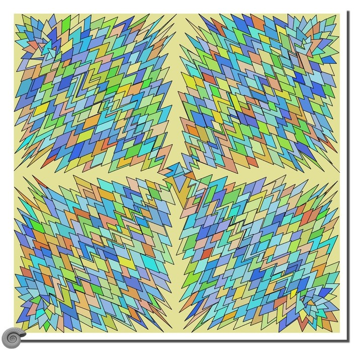 tesselation with attractor