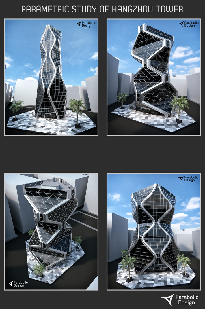 Parametric Study of Hangzhou Tower -01