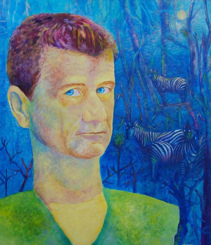 Portret mężczyzny fantazyjny