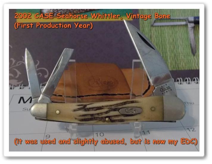 CASE Seahorse Whittler (Vintage Bone)