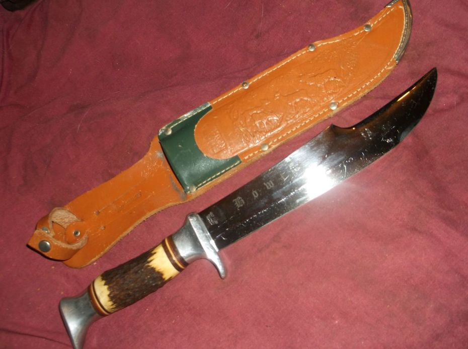 Edge Brand 1960's African Bowie Solingen Germany